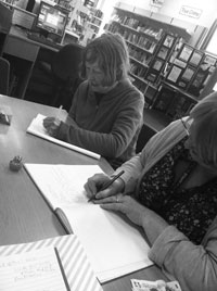 write mindful writing workshop library leicester